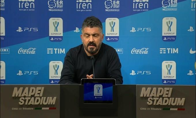 """Gattuso: """"La Juve ai punti ha fatto qualcosa in più"""""""
