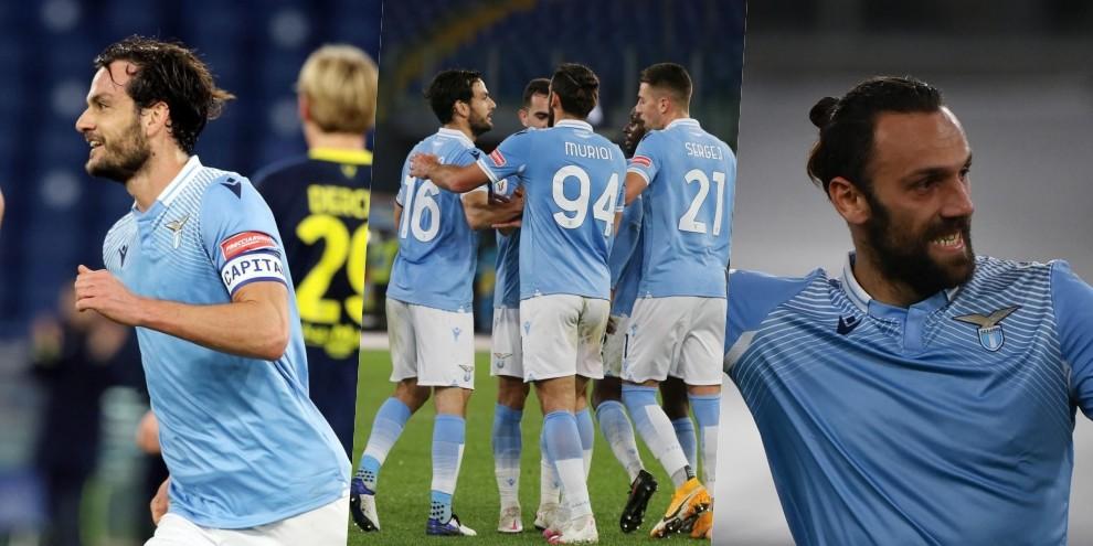 Lazio, festa in Coppa Italia con Parolo-Muriqi: Parma battuto 2-1