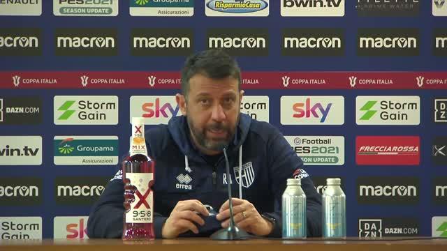 "D'Aversa, applausi a metà: ""Giochiamo bene ma poi..."""