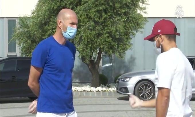 Real Madrid: Zidane positivo al Coronavirus