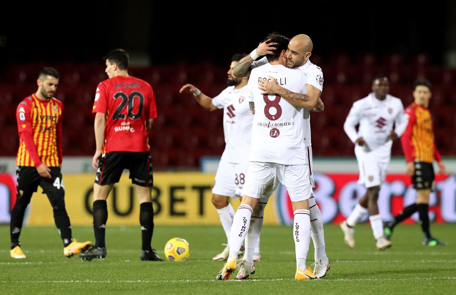 Benevento-Torino 2-2: Zaza beffa Inzaghi al 93', sorride Nicola