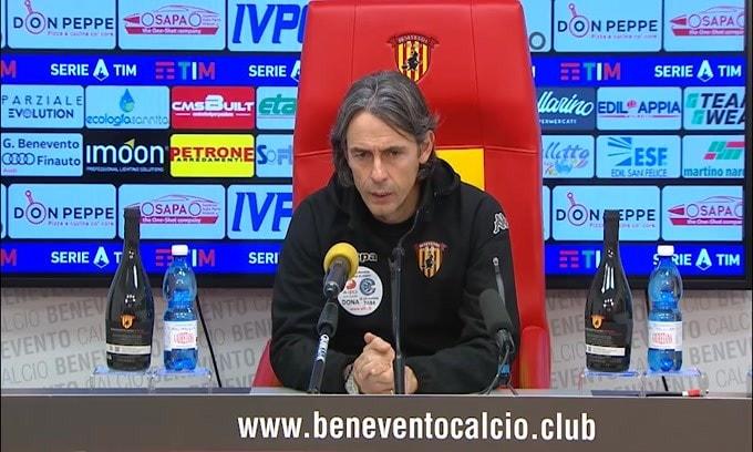 """Filippo Inzaghi: """"Sfiorata la vittoria contro una squadra di qualità"""""""