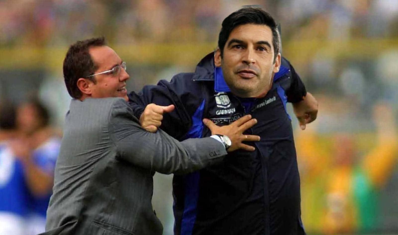 Roma-Spezia vista dai social: Fonseca come Mazzone