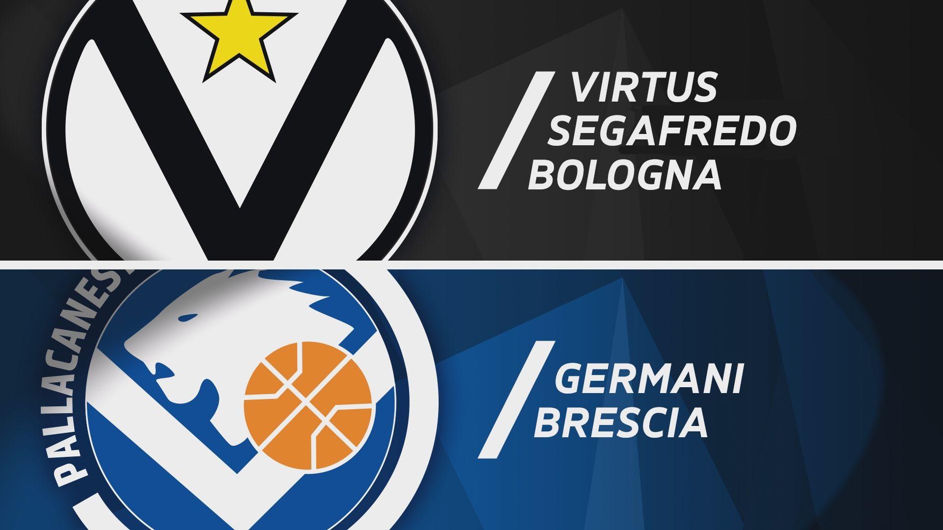 Virtus Segafredo Bologna - Germani Brescia 89-90