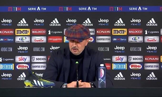 "Mihajlovic: ""Juve forte, ma partita combattuta"""