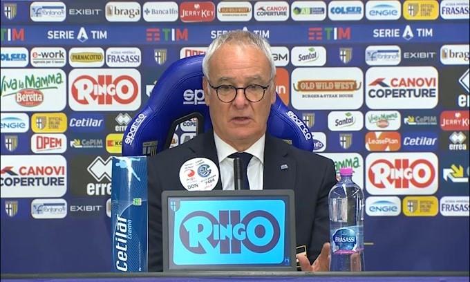 """Ranieri: """"Europa? L'anno scorso il Parma sembra salvo poi.."""""""
