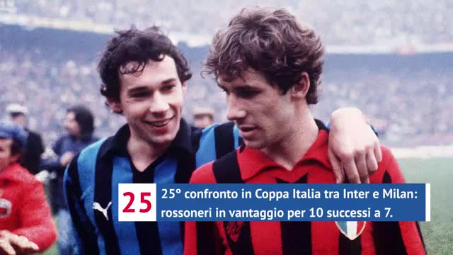 Inter-Milan, in Coppa Italia la spuntano i rossoneri