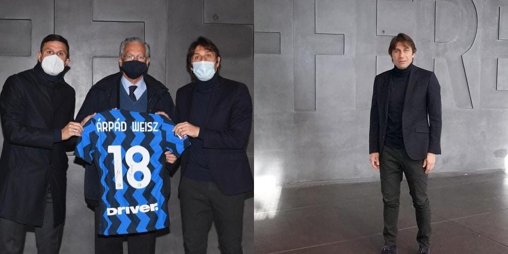 Inter, Conte e Zanetti al Memoriale della Shoah