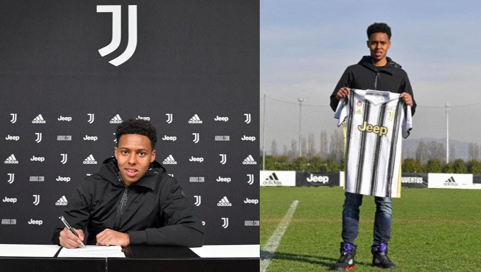 Ecco Akè, firma e foto con la maglia della Juve