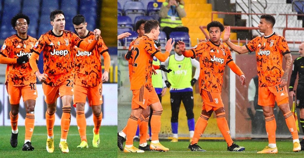 Apre Chiesa, chiude Ramsey: la Juve vince in casa della Samp