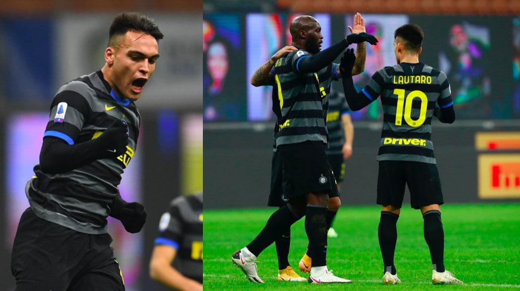 Lautaro ritrova il gol, Lukaku fa doppietta: poker dell'Inter al Benevento