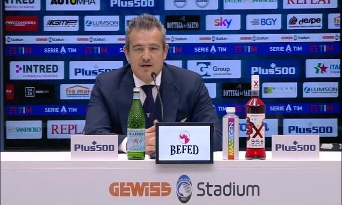 """Farris stuzzica l'Atalanta: """"La Coppa Italia vinta da noi è storia"""""""