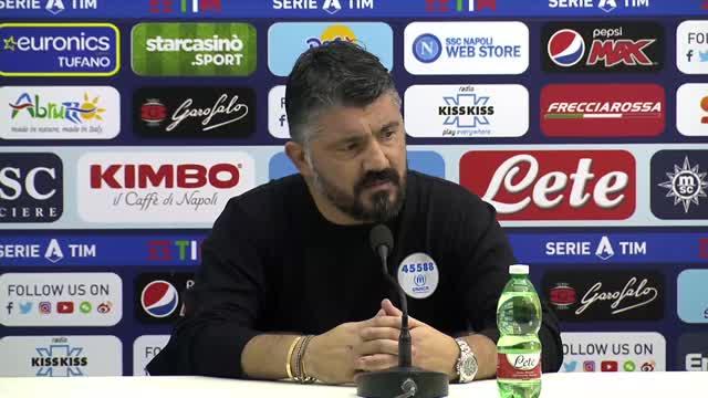 """Gattuso: """"Atalanta? Può ricaricare e farti sei gol"""""""