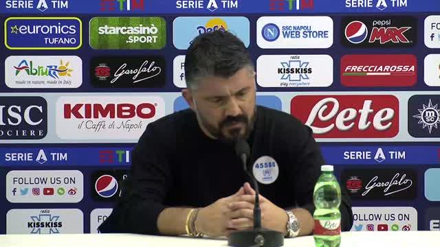 """Gattuso: """"Napoli, è tornata la cattiveria"""""""