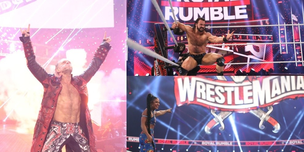 Edge e Bianca Belair trionfano alla Royal Rumble 2021
