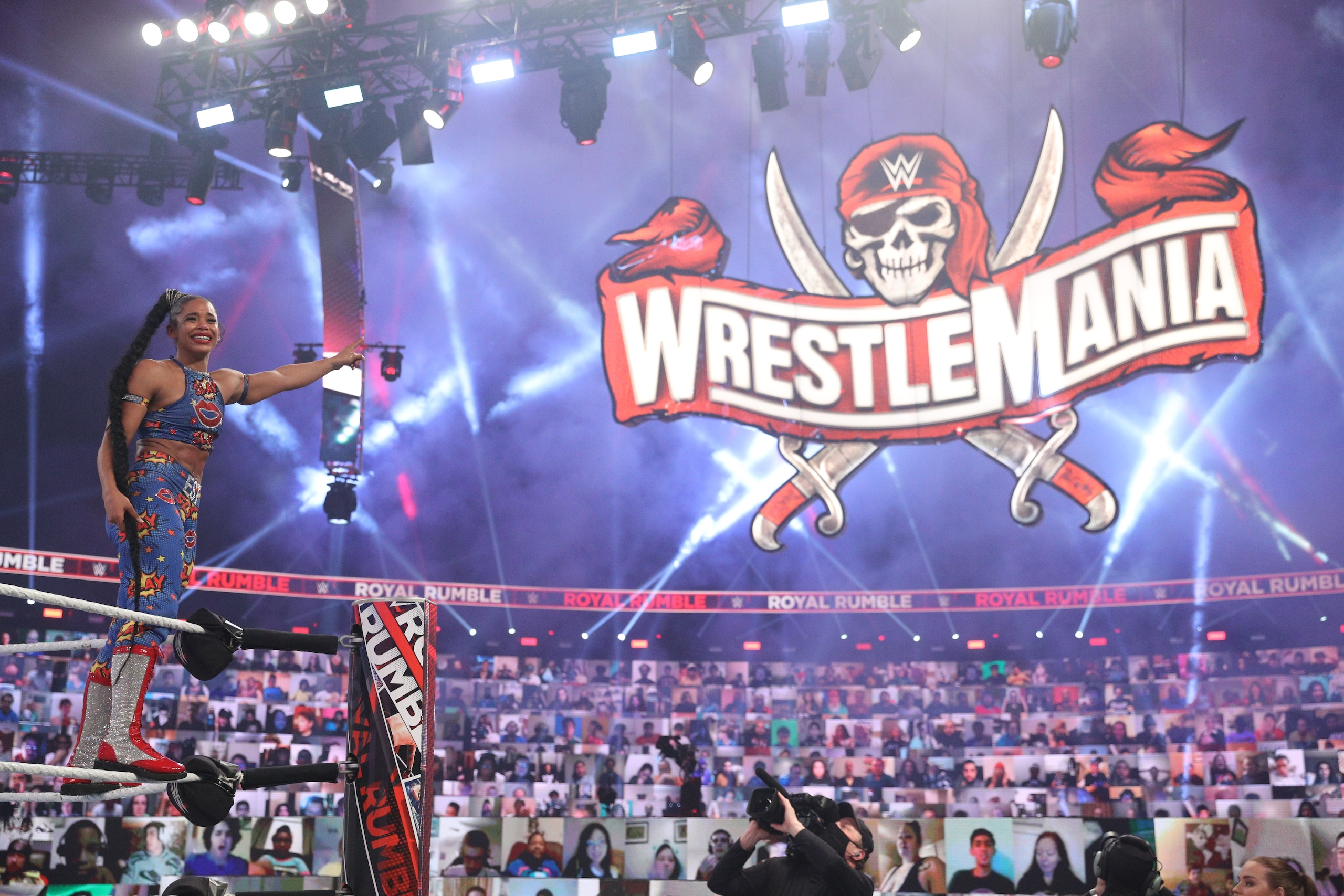 054529783 23b4bb88 f110 456b 91ab e6a8d16c286f - WWE Royal Rumble 2021, il trionfo di Edge e Bianca Belair