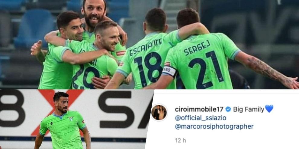 """Lazio, che festa sui social: """"Abbiamo gli attributi!"""""""