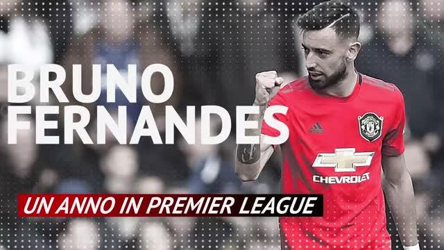 Bruno Fernandes, un anno in Premier League