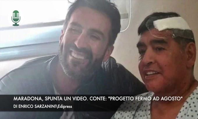 """Maradona, spunta un nuovo video. Conte: """"Progetto Inter fermo ad agosto"""""""