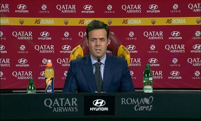 """Tiago Pinto: """"Dzeko ora non è il capitano della Roma"""""""