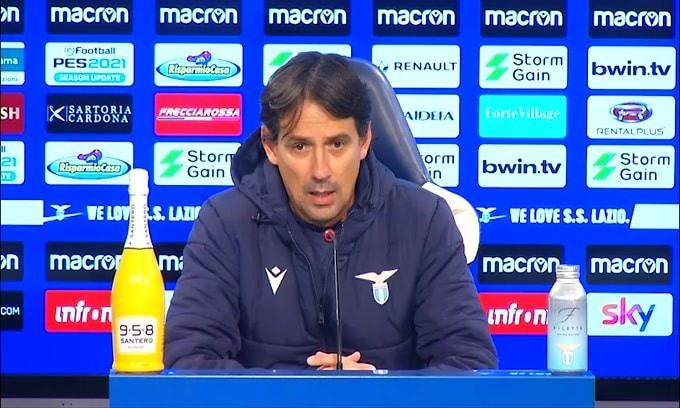 """Simone Inzaghi: """"Lazio, continua a pedalare"""""""