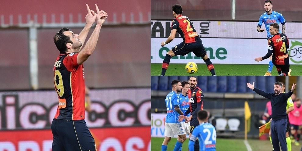 Politano non basta al Napoli: Pandev e due legni fermano Gattuso