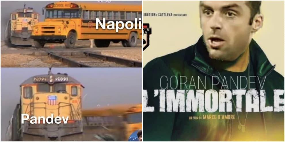 """Genoa-Napoli, social scatenati: Pandev è """"l'immortale"""""""