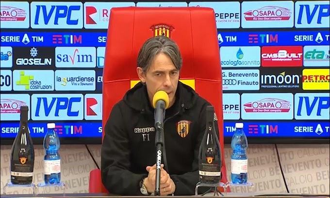 """Filippo Inzaghi: """"Ci prendiamo i complimenti di Ranieri"""""""