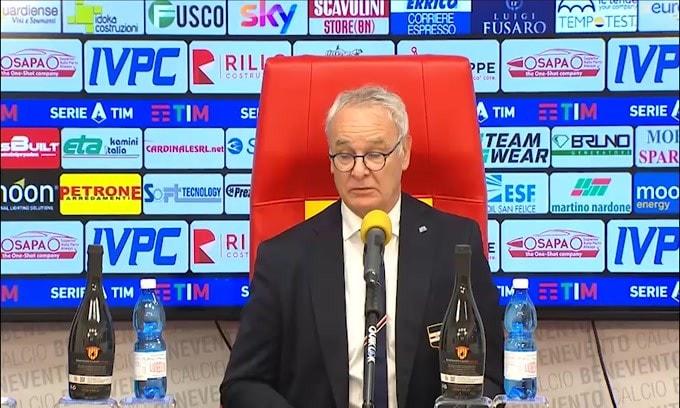 """Ranieri: """"Quagliarella? É troppo importante per noi"""""""