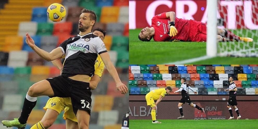 Silvestri è super... fino all'autogol! Llorente e Deulofeu trascinano l'Udinese
