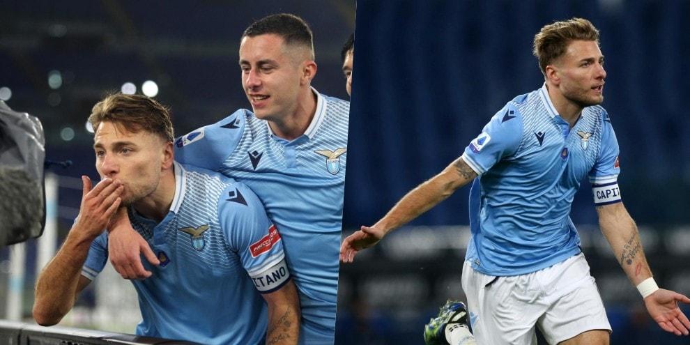 Lazio, con Immobile si vola: Cagliari ko 1-0