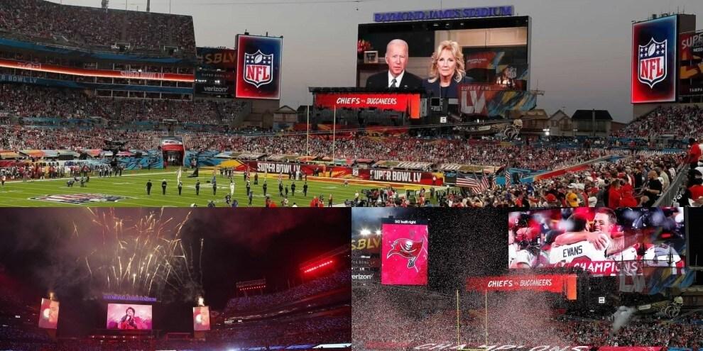 Super Bowl, spettacolo sugli spalti: in 25.000 per lo show di Brady