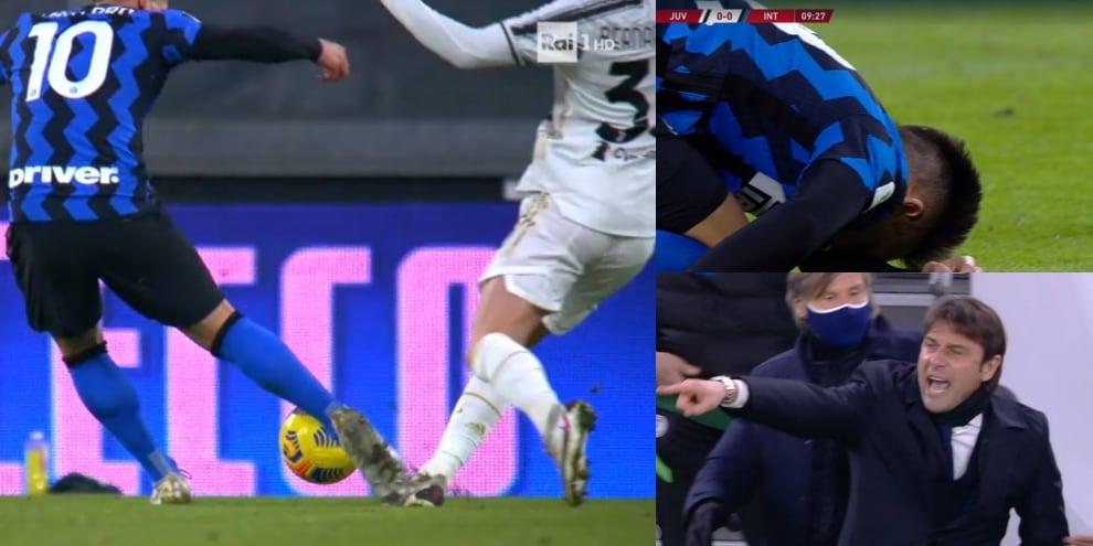 Contatto fra Lautaro e Bernardeschi: Conte si infuria