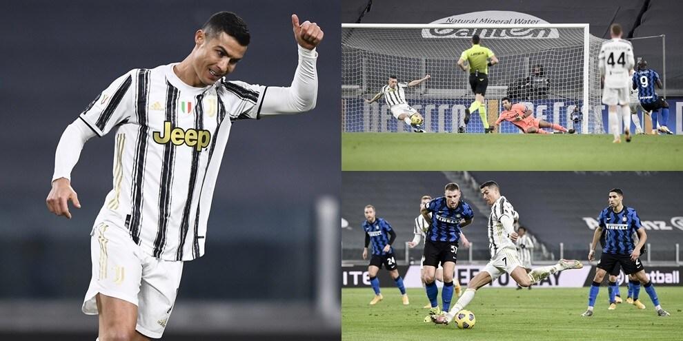 Demiral è un muro, Handanovic ferma Ronaldo: la Juve è in finale di Coppa Italia