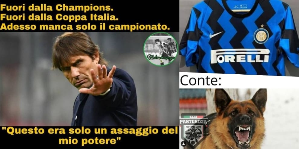Ironia social su Juve-Inter: Lukaku fantasma e Conte...