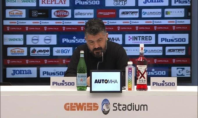 "Gattuso: ""Juve ultima spiaggia? Chiedete al club"""