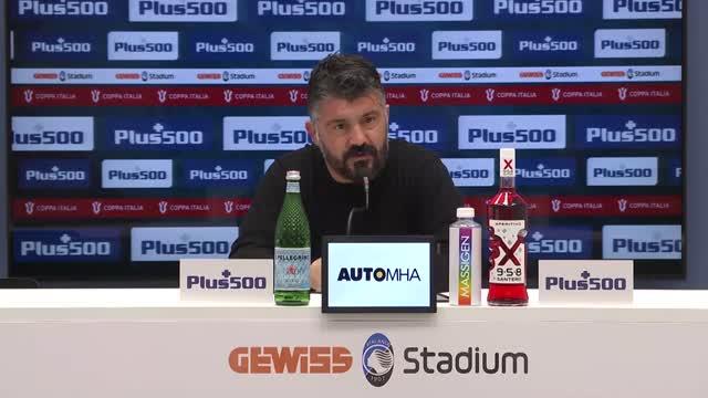 """Gattuso: """"Ultima spiaggia con la Juve? Non chiedetelo a me"""""""