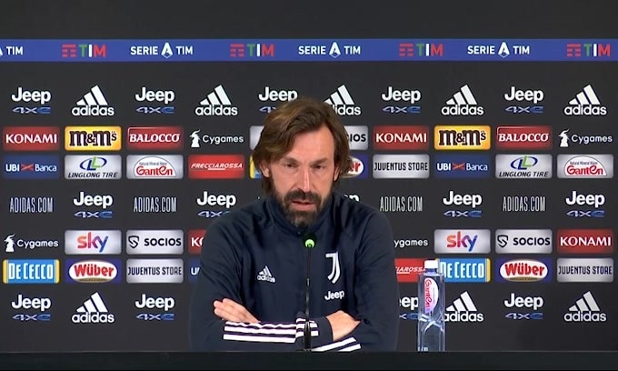 """Pirlo: """"Obiettivo vincere a Napoli"""""""