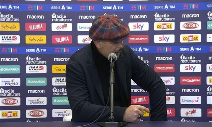 """Mihajlovic: """"Abbiamo fallito a livello mentale"""""""