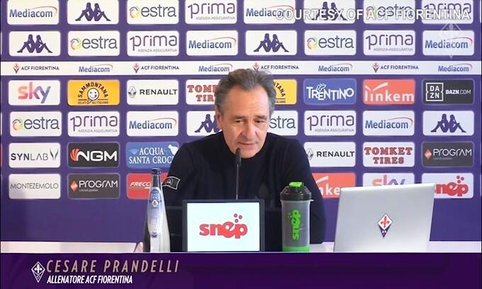 """Prandelli: """"Mettiamo la Samp con l'acqua alla gola"""""""