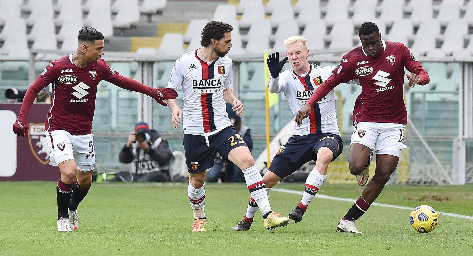 Il Torino pareggia ancora e frena il Genoa: 0-0 il finale