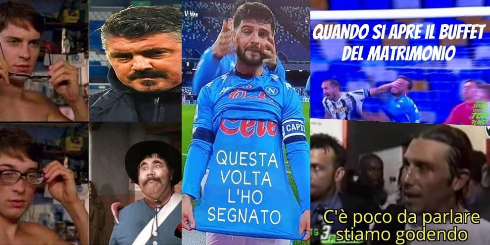 Napoli-Juve, tifosi scatenati sul web tra ironia e sfottò