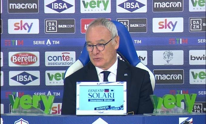 """Ranieri: """"Obiettivo Europa? Ma avete visto chi c'è davanti?"""""""