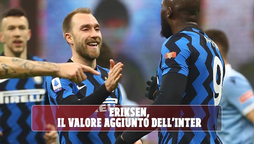 Eriksen, il valore aggiunto dell'Inter