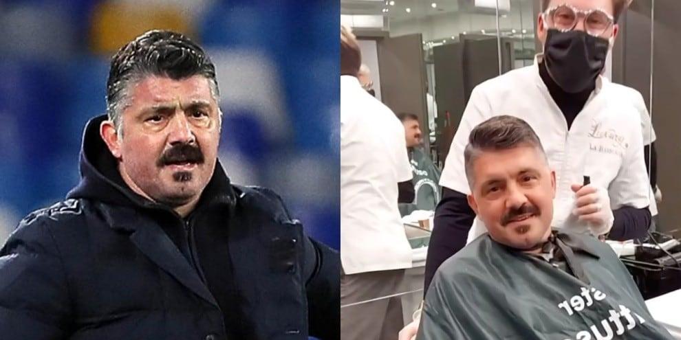 Gattuso, stavolta niente errori: torna dal barbiere