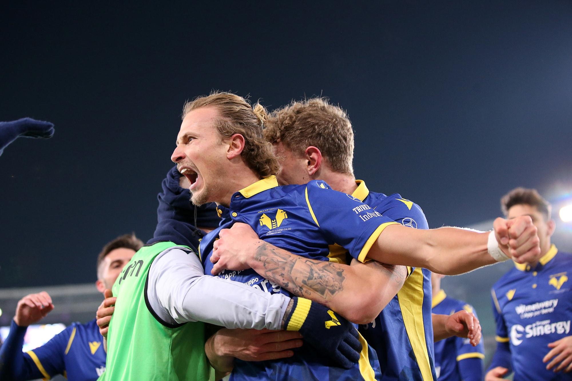 Barak, il millesimo gol del Verona mette ko il Parma