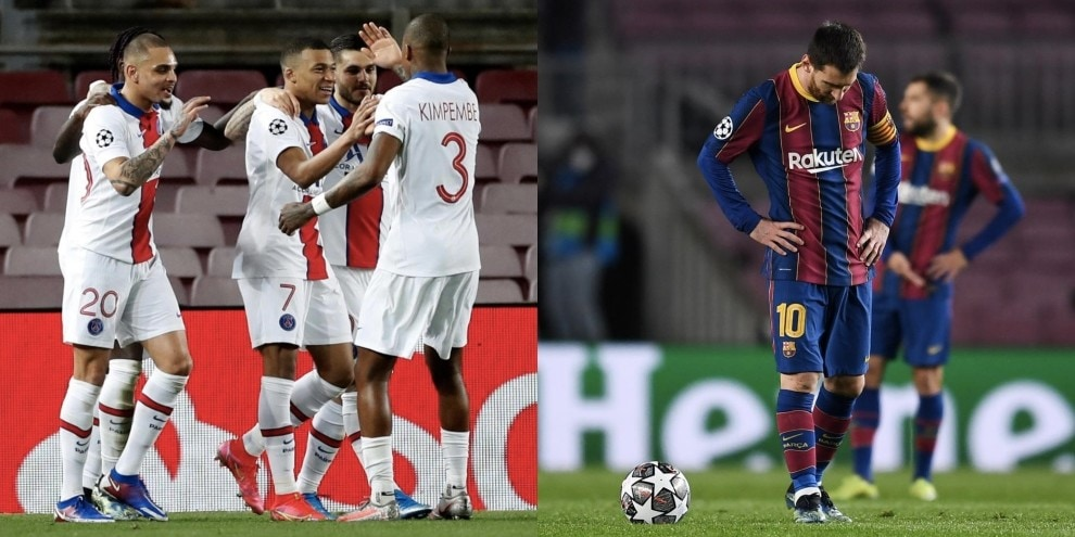 Mbappé fa il re al Camp Nou: tripletta a casa Messi!