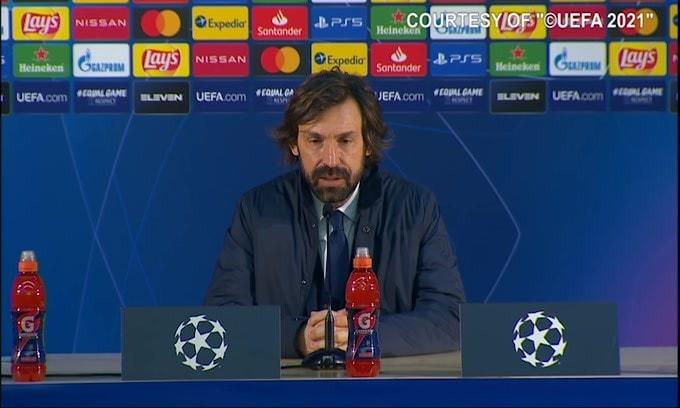 """Pirlo: """"Morata è stato male a fine gara, Dybala non aveva neanche 5 minuti"""""""