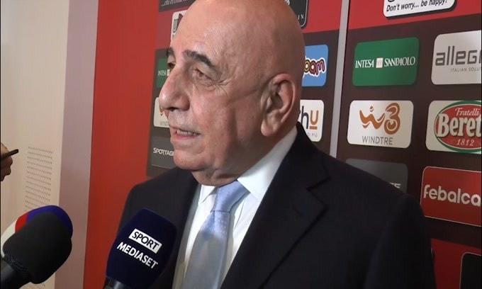 """Galliani su Ibra e il rinnovo: """"Lascio il problema al Milan.."""""""