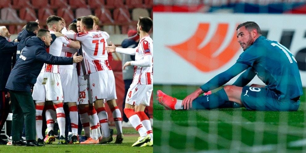 Belgrado amara per il Milan, raggiunto nel recupero da Pavkov